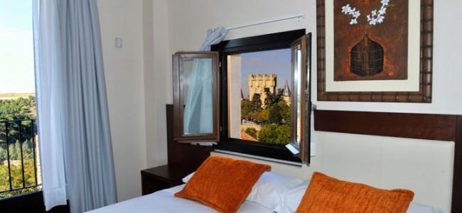 Habitación doble Premium. Hotel Don Felipe. Segovia
