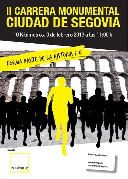 II Carrera Monumental «Ciudad de Segovia»