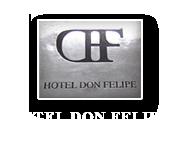 Hotel en Segovia. Hotel Don Felipe, situado en el centro de la ciduad