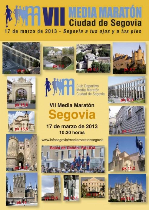 VII Media Maratón Segovia 2013