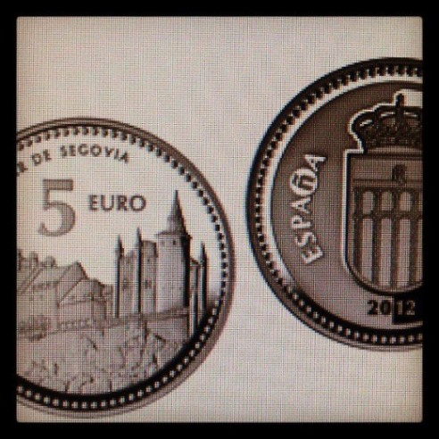Este miércoles se presenta la moneda de Segovia en la CECA
