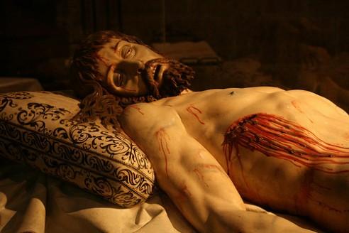 El Cristo yacente viajará a Las Edades del Hombre