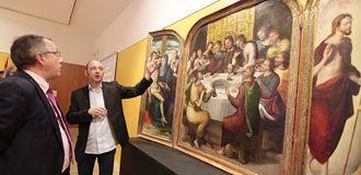 El Museo de Segovia inaugura exposición sobre la investigación en 'La última cena'