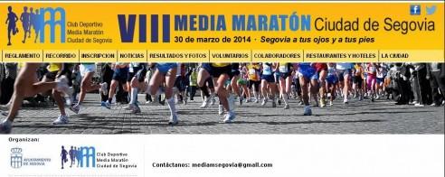 Media Maratón Segovia 2014