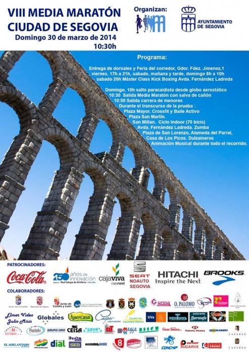 VIII Media Maratón Segovia 2014