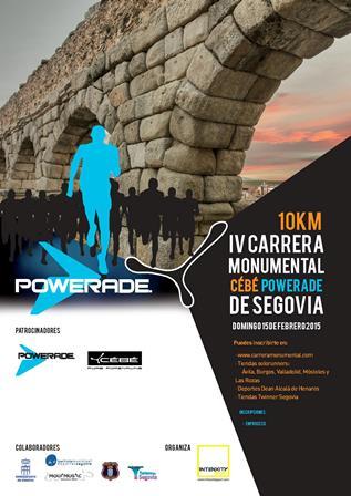 IV Carrera Monumental Cebé Powerade Ciudad de Segovia