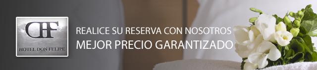 RESERVAS. HOTEL EN SEGOVIA. HOTEL DON FELIPE