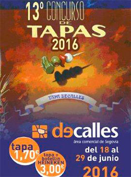 De tapas por Segovia 2016
