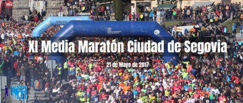 XI Media maratón ciudad de Segovia 2017